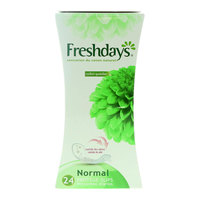 Freshdays Natural Cotton Feel Normal 24 Pantyliners