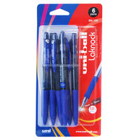 Uni-Ball Pen Laknock Medium Bls 6Pc