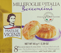 Matilde Vicenzi Bocconcini With Milk Cream 65g