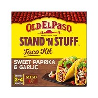 Old El Paso Stand 'N Stuff Taco Kit Sweet Paprika And Garlic 312GR