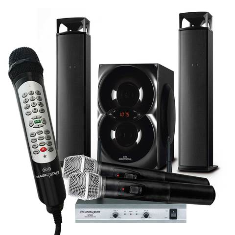 Magic-Star-Karaoke-Wireless-MS805-+-SP200+-BB260-Sound-bar