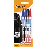 Bic Star Wars Stick Ballpen 4Pcs
