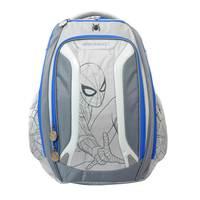 """Marvel Spiderman Teens Grey Backpack 18"""""""