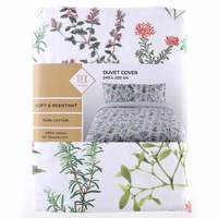 TEX Quilt Cover Double White