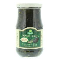Halwani Bros Mukhtarat with Olive Oil Sliced Black Olives 325g