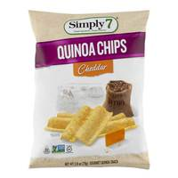 Simply 7 Quinoa Chips Cheddar 79g