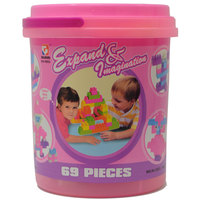 Goldkids Block Bucket 69Pc Hj3853
