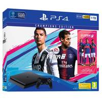 Sony PS4 1TB Slim Console+FIFA 19 Champion Edition