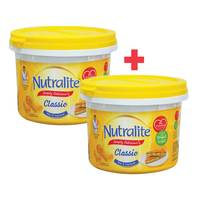 BUY 1 + 1 FREE Nutralite Spread Classic Butter 500g