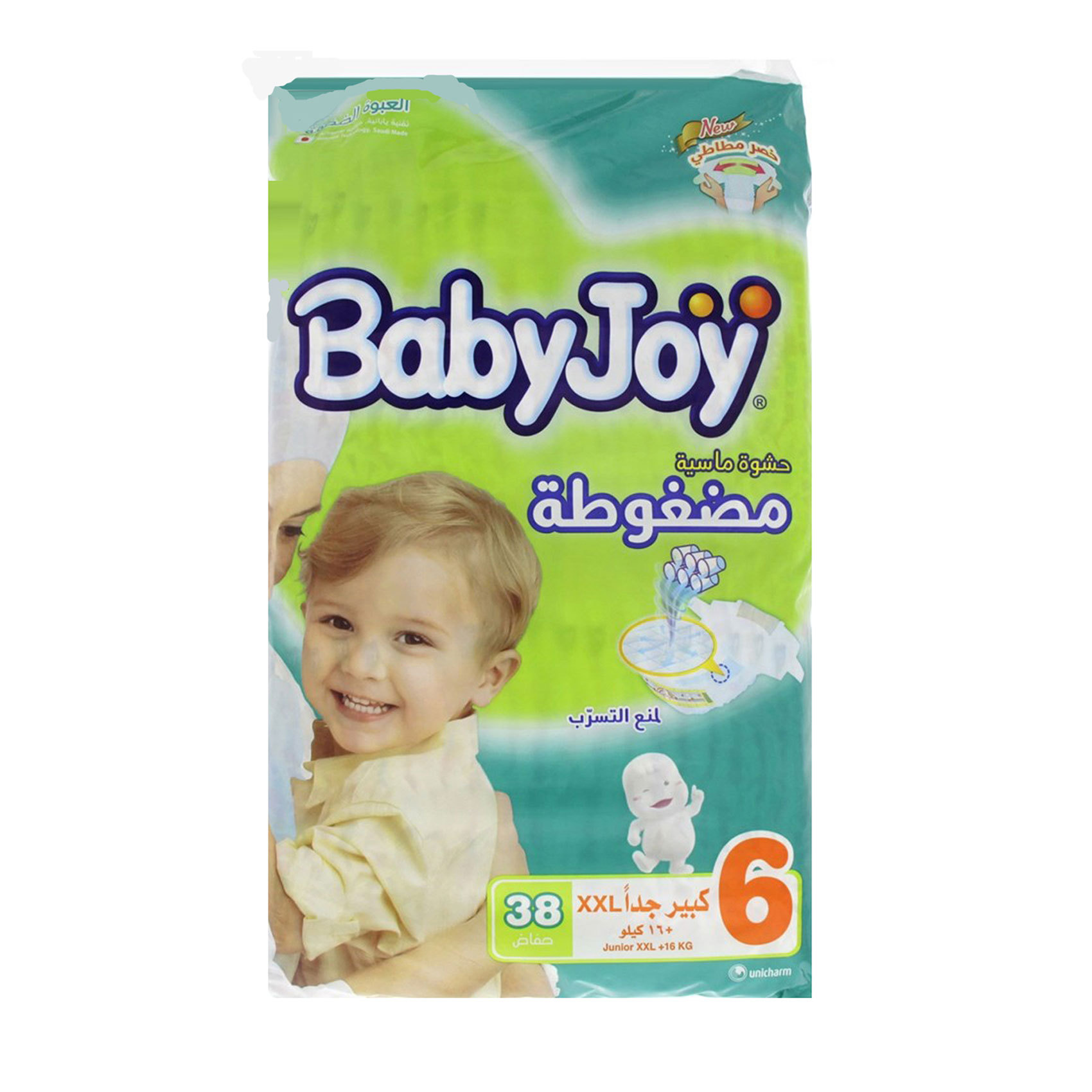 BABY JOY GIANT JUNIOR XXL 38'S