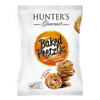 Hunter's Gpurmet Baked Pretzos with White & Black Sesame 180g