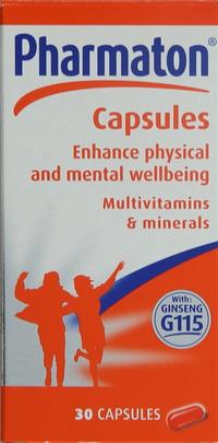 Pharmaton Multivitamins & Minerals Capsules x30