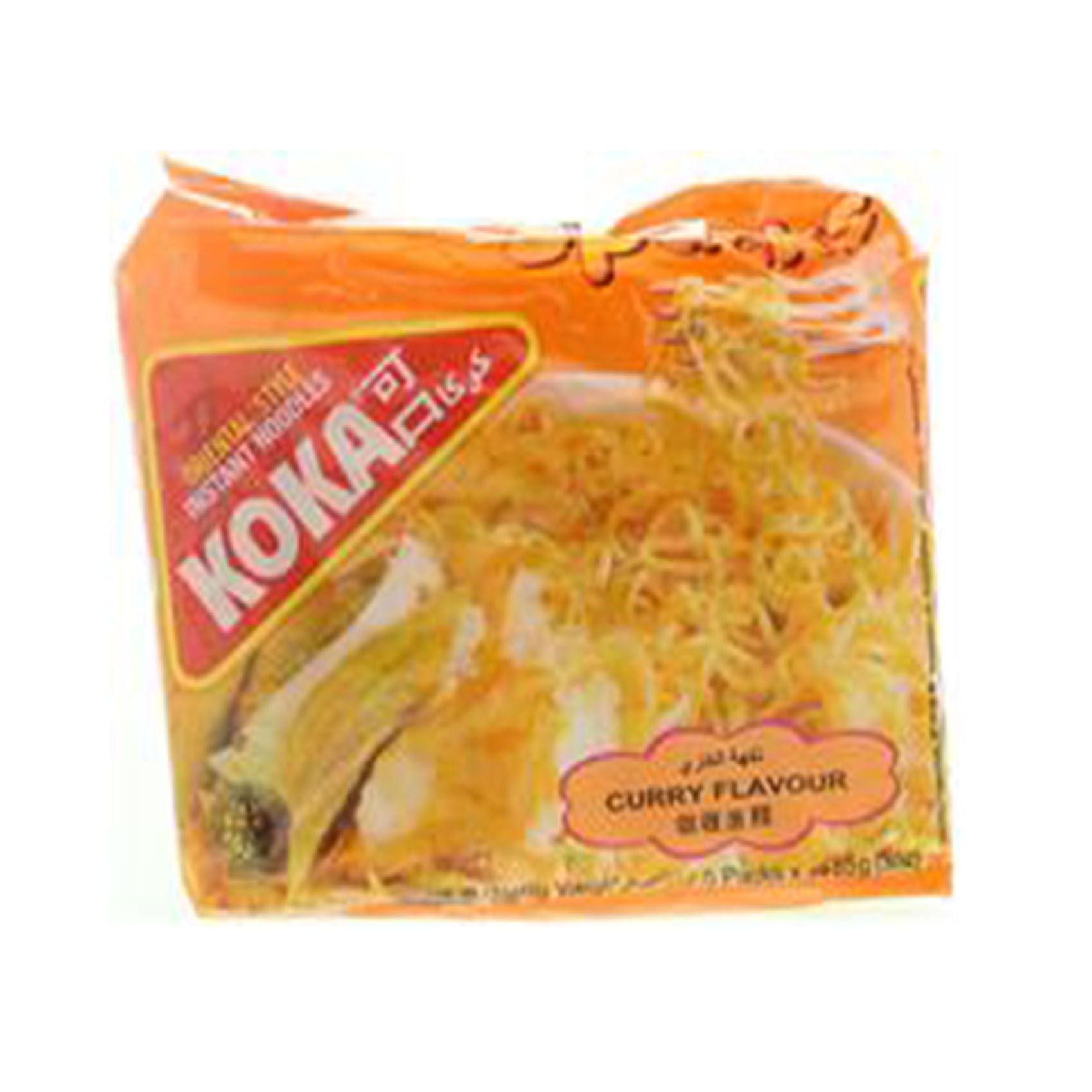 KOKA NOODLES CURRY 85GRX5
