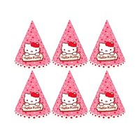 Sanrio Hats Hello Kitty 6 Pieces