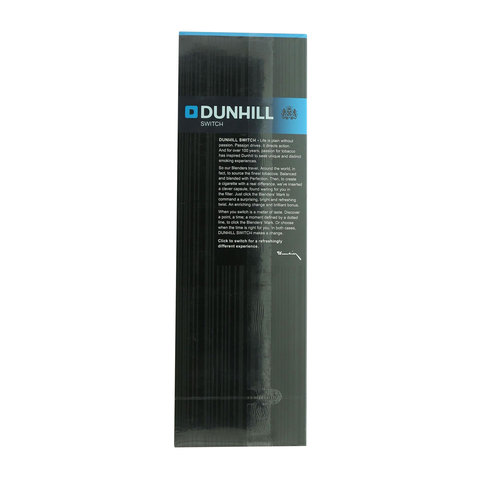 Dunhill-Switch-Black-Blue-Refreshing-Twist-200/20-Cigarettes(Forbidden-Under-18-Years-Old)