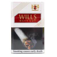 Wills Navy Cut Cigarettes Red 20's
