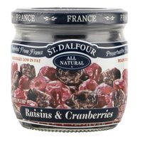 St. Dalfour Raisins & Cranberries 200g