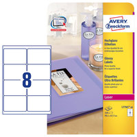 Avery Glossy Labels L7765-40