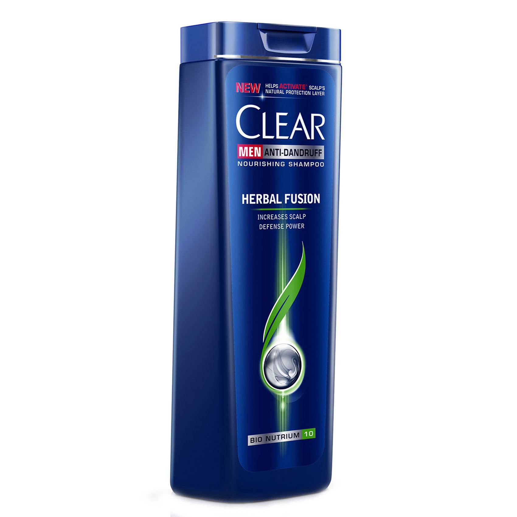 CLEAR SHAMP HERB FUS MEN 400ML