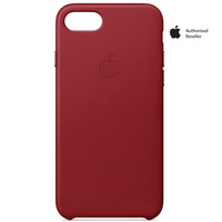 Apple Case iPhone 8&7 Leather Charcoal Gray