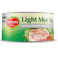 Del Monte Light Meat Tuna Solid Pack in Brine 185g