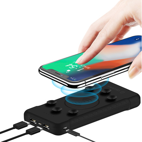 Buy Cellairis Wireless Charger With Power Bank 10000mAh Black Online ... 74ff5532c7