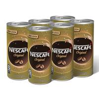 Nescafe Ready To Drink Original Chilled Coffee Can 240ml x6