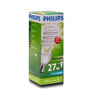 Philips Tornado 27W Warm White E27 220-240V 1CT/12