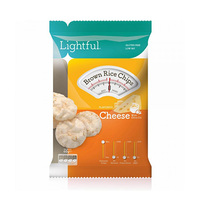Lightful Rice Chips Brown Cheese 60GR