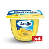 Danette Cream Dessert Vanilla 90gx4