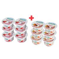 BUY 6 + 6 FREE Marmum Fruit Yoghurt 125g