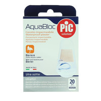 Pic AquaBloc Waterproof Plaster 20 Pieces