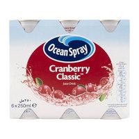 Ocean Spray Cranberry Classic Juice Drink 250mlx6