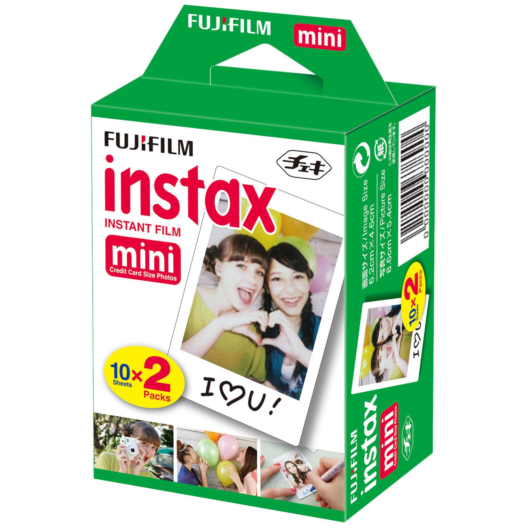 FUJIFILM - FILM INSTAX 2 PACK MINI