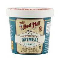 Bob's Red Mill Gluten Free Oatmeal Classic with Flax & Chia 51g