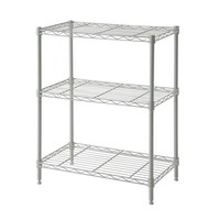 Cameltough - Wire Rack 60 X 35 X 76 Cm White 3 Shelf - Htc-Wr601