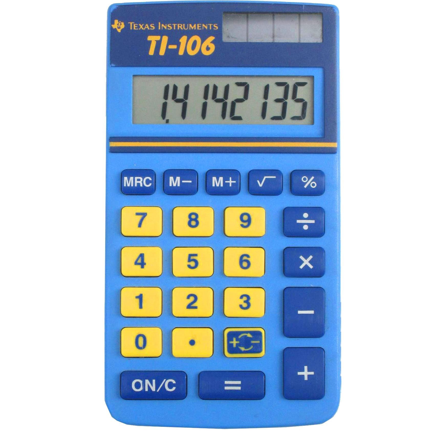 TEXAS POCKET TI-106 CALCULATOR