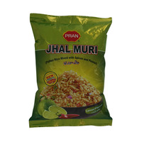 Pran Jhal Muri Puffed Rice Mixed with Spices & Peanut Lemon Flavor 50g