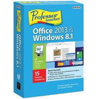 PC Professor Teaches Office 2013&Windows 8.1