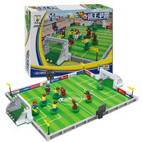 Ausini Soccer Sport Games Football Field Building Bricks Set 251 Pcs