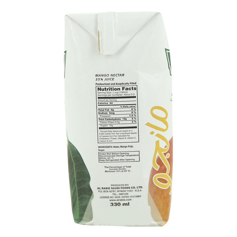 Al-Rabie-Mango-Nectar-330ml
