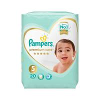 Pampers Premium Care Diapers Size 5 Junior Carry Pack 20 diapers