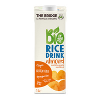 The Bridge Organic Rice Almond 1l