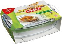 Pyrex Essentials Oval Casserole 4.6 Liter