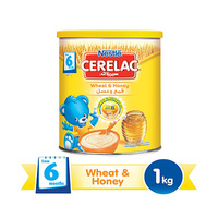 Cerelac  Care Wheat Honey 6Months 1KG