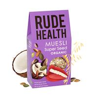 Rude Health Organic Muesli Super Seed 500GR