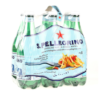San Pellegrino Sparkling Natural Mineral Water 1Lx6