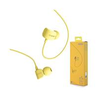 Remax Earphones RM502 Crazy Robot Yellow