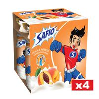 Safio Yoghurt Drink 93mlX4Peach and Apricot