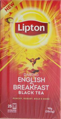 Lipton Daring English Breakfast Black Tea 25'sx 2 g